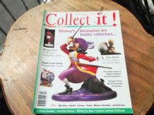 COLLECTABLE MAGAZINE COLLECT IT SEP 1998 #15 DISNEY CROWN DERBY PIXIE OKRA